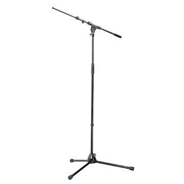Microphone Stand, Tall, with Boom (ex-hire)